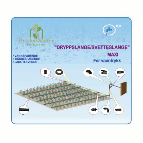 "Dryppslange/Svetteslange System ""Dryppslange Maxi"""