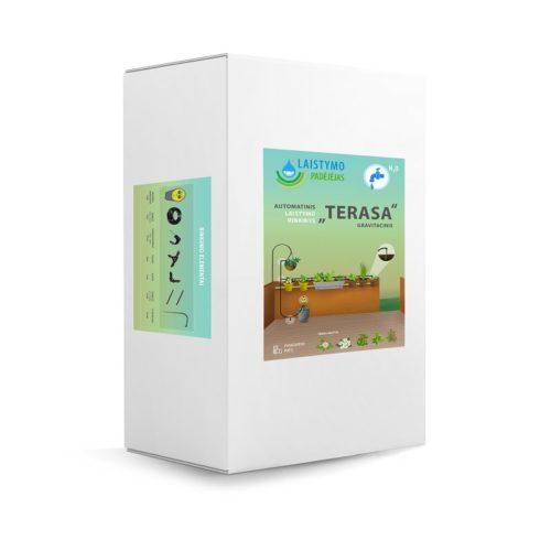 "Micro-Drip Vanningssystem ""Terrasse"" For Vanntønne"