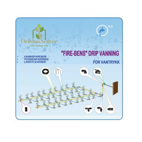 "Micro-Drip Vanningssystem ""Fire-Bens"""