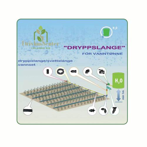 "Dryppslange/Svetteslange System ""Dryppslange"""