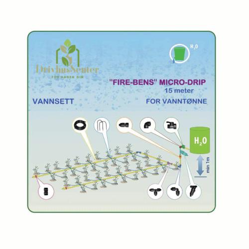 Micro-Drip Vanningssystem