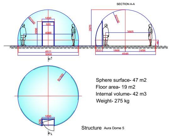 Aura Dome Kuppel 5